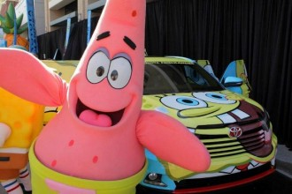 Toyota e Nickelodeon criam carro temático do Bob Esponja