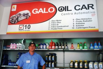 Posto Galo do Aririú inaugura o Galo Oil Car